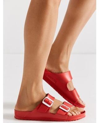 Sandalia Birkenstock Arizona Eva Rojo Red Original Nueva  38 ... 8f7d5523914