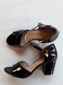 8a26dbd648 Salto Alto Feminino Peep Toe - Sapatos no Mercado Livre Brasil