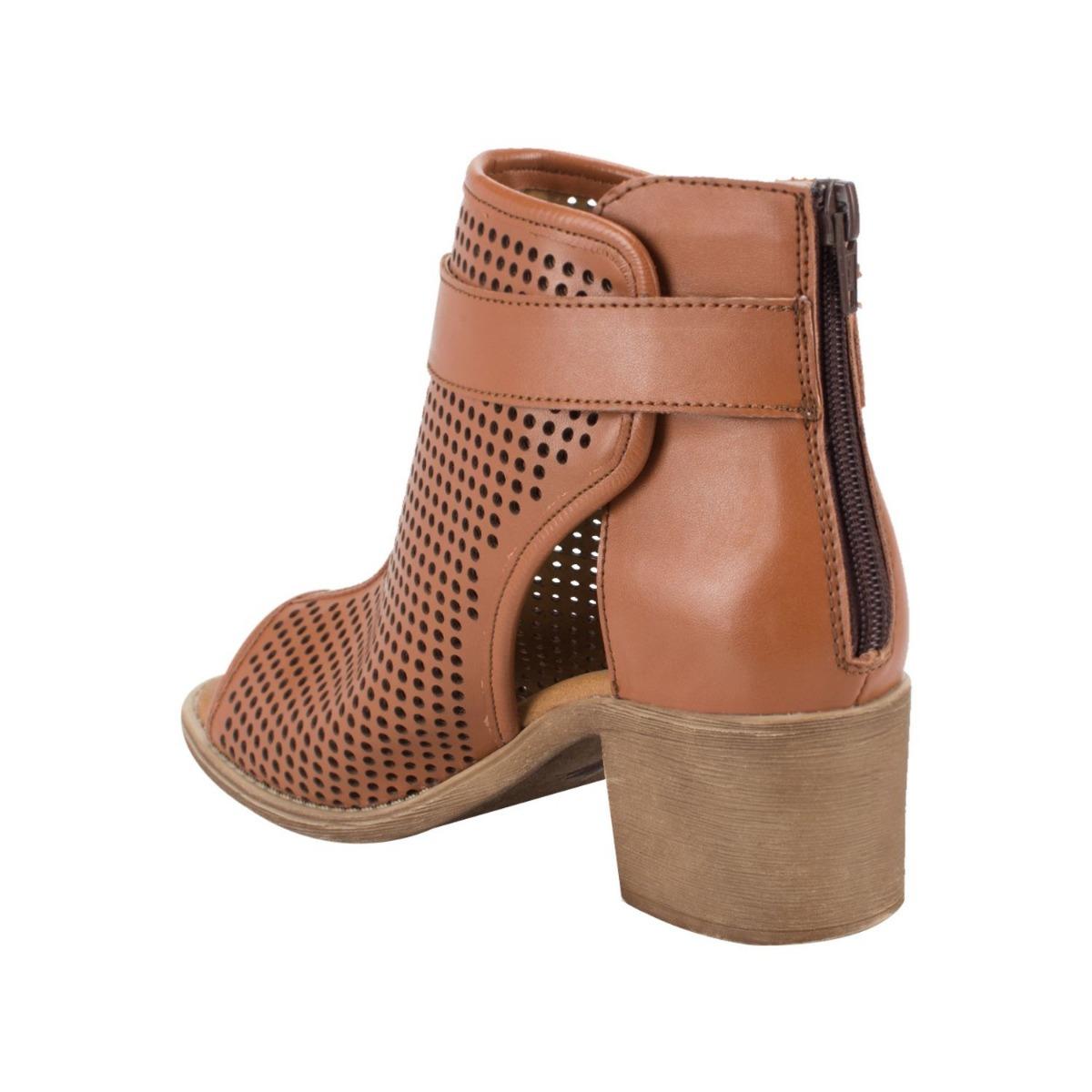939fd2b6040 Sandalia Botin Vi Line Fashion Camel Sintetico Sn23 A -   529.00 en ...
