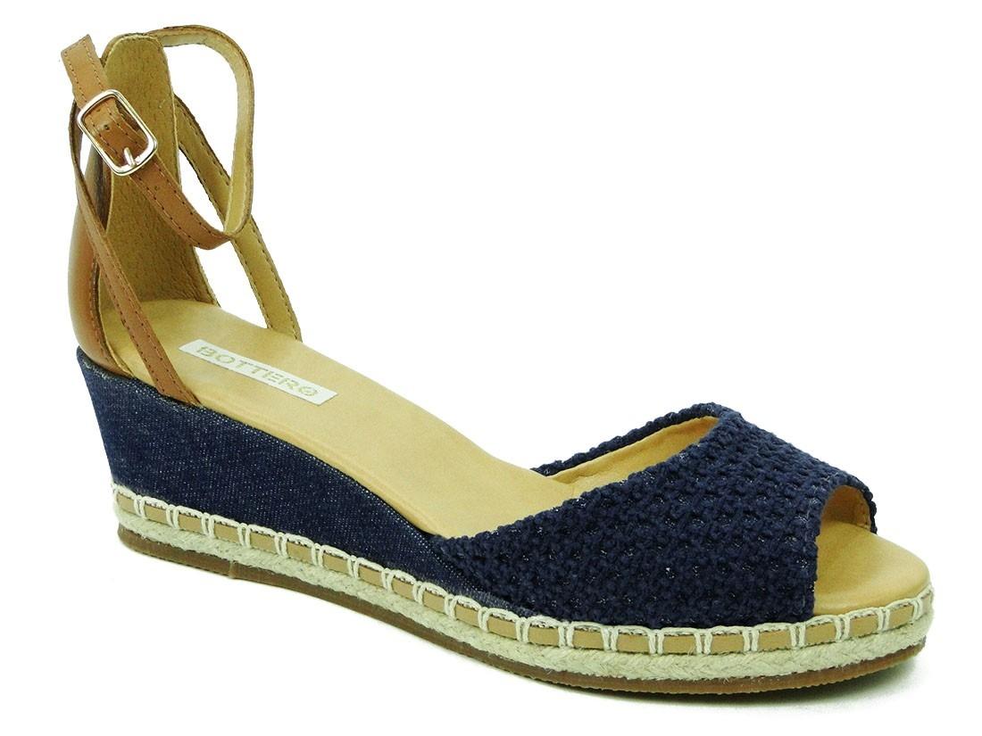 b8dabdc904 sandalia bottero espadrille azul. Carregando zoom.