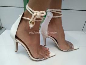 de87d5eb67 Sandalia Salto Franja Gladiadoras Melissa - Sapatos para Feminino no ...