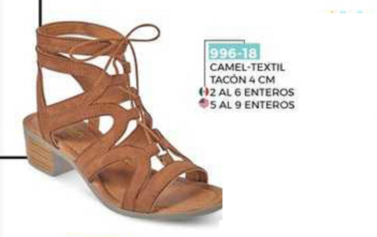 2af465b877a Sandalia Camel Tacón 4cm 996-18 Cklass Borrar -   500.00 en Mercado ...