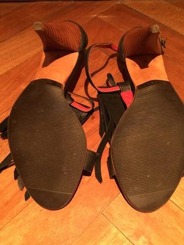 sandalia  carla danelli  39 -  negro