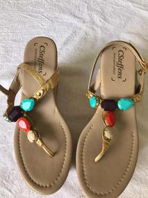 2363e3a7d5 Sandalia De Pedras Carmen Steffens - Calçados