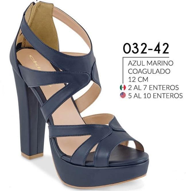 ee31aefc9a8 Sandalia Casual Azul Marino 032-42 Cklass Para Dama 1-19 -   750.00 ...