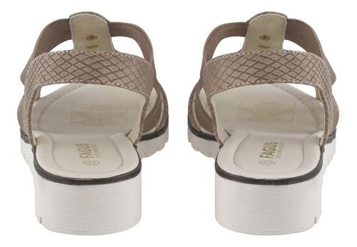 sandalia casual beige 4ss14620 (35 al 40) fagus