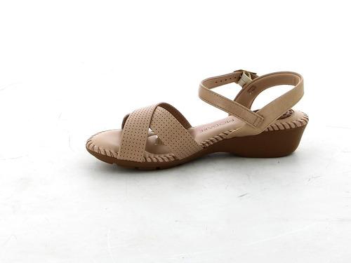 sandalia casual de mujer modare sandalia tira cruz confort