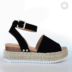 2a4c6b283 Sandalias Plataforma Plana - Zapatos en Mercado Libre México