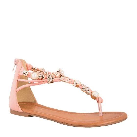 Salmon By Dama Price A519 Casual Sandalia Color 00 Pink Ws164 2HI9DE