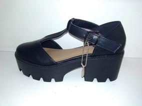 Plataforma Numero Panchas Sandalias Negras 34 Zapatos Calzados Con E9IHWYD2