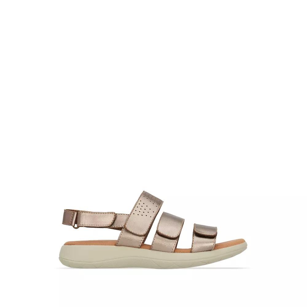2ef1093bb5 sandalia cerrada para dama confort andrea color oro 2612003. Cargando zoom.