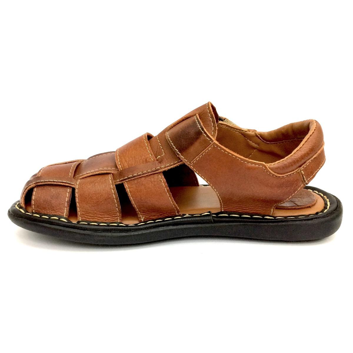 2225cbe59c sandália chinelo couro masculino confort maciez sem juros. Carregando zoom.