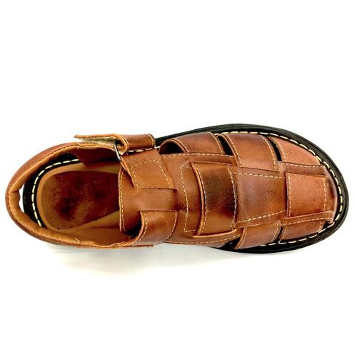 sandalia chinelo couro masculino confort maciez super barato