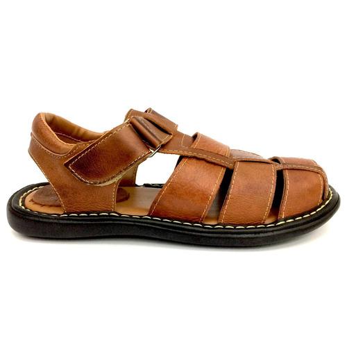 sandalia chinelo de couro masculino macia e super barato