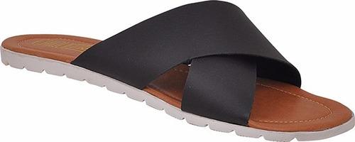 sandalia chinelo feminino rasteira rasteirinha tratorada x 8