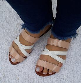 807f50c9a6 Chinelos Sumô Feminino Sapatilhas - Sapatos Dourado no Mercado Livre Brasil