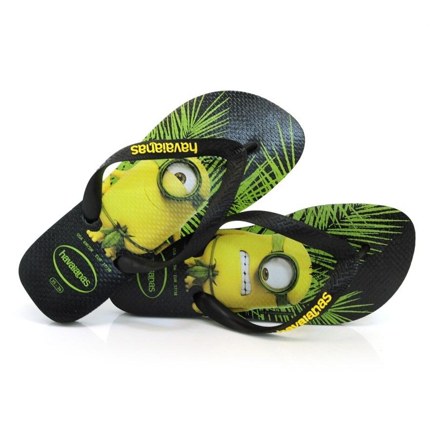 2a3dd9df3 sandália chinelo havaianas minions preta tamanho 41 / 42. Carregando zoom.