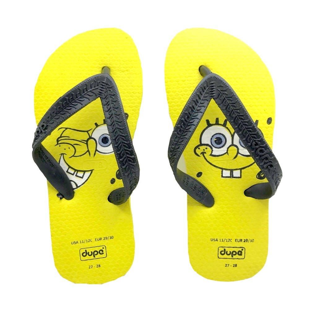 9af8119d2 sandalia chinelo infantil menino bob esponja dupe clique+. Carregando zoom.