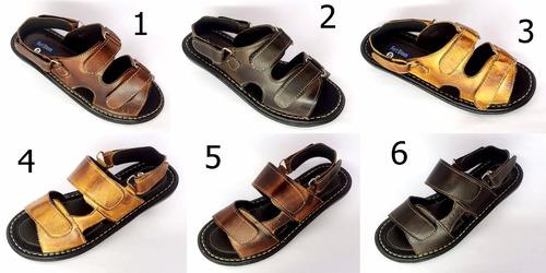 sandália chinelo masculina de couro promoção barato 900