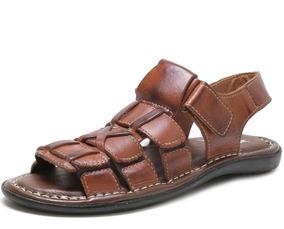 4ee43a3932 Sandalia Richard S Em Couro Legítimo - Sapatos com o Melhores Preços no  Mercado Livre Brasil