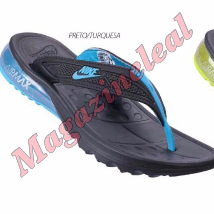 fb5ba7f840d Sandália Chinelo Nike Air Max Gel Original