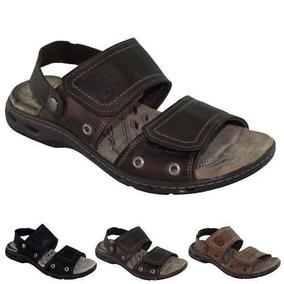cba4e134c Sandalia Pegada Couro Confort - Calçados, Roupas e Bolsas no Mercado Livre  Brasil