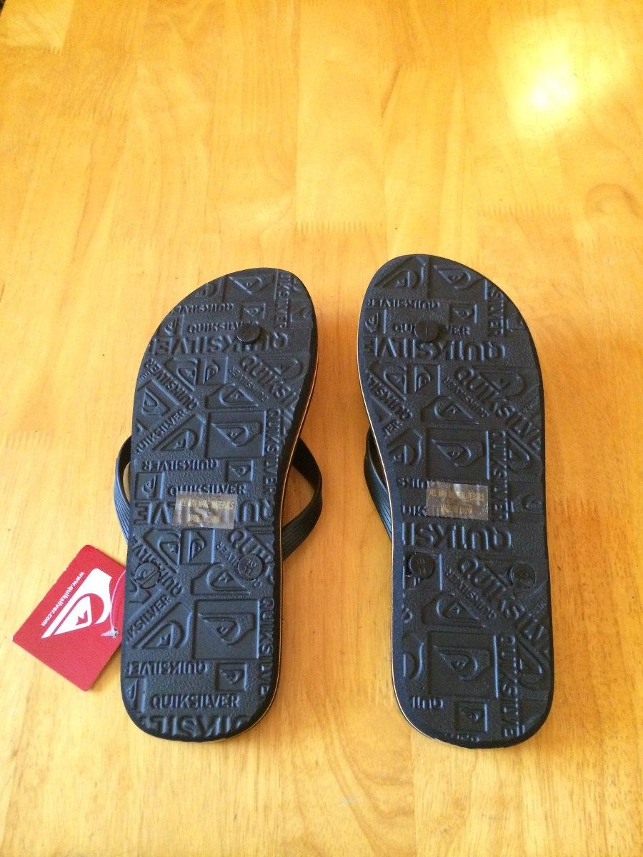 24d5c2d2b9 sandália chinelo quiksilver tam 10 usa - 42 bra - original! Carregando zoom.