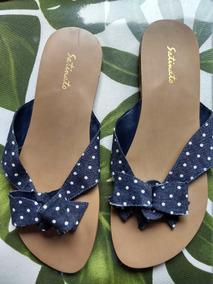 703e17946d Chinelo Satinato Feminino Mocassins - Sapatos no Mercado Livre Brasil