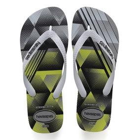 a5f02f6fdda301 Sandalia Chinelo Trend - Havaianas - Cinza Aço/cinza