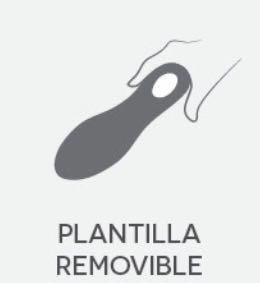 sandalia clinicus doble ancho alto confort prim-18 6975