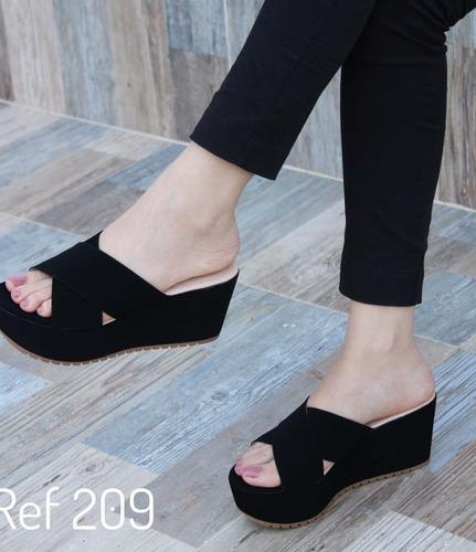 sandalia colombiana para dama.
