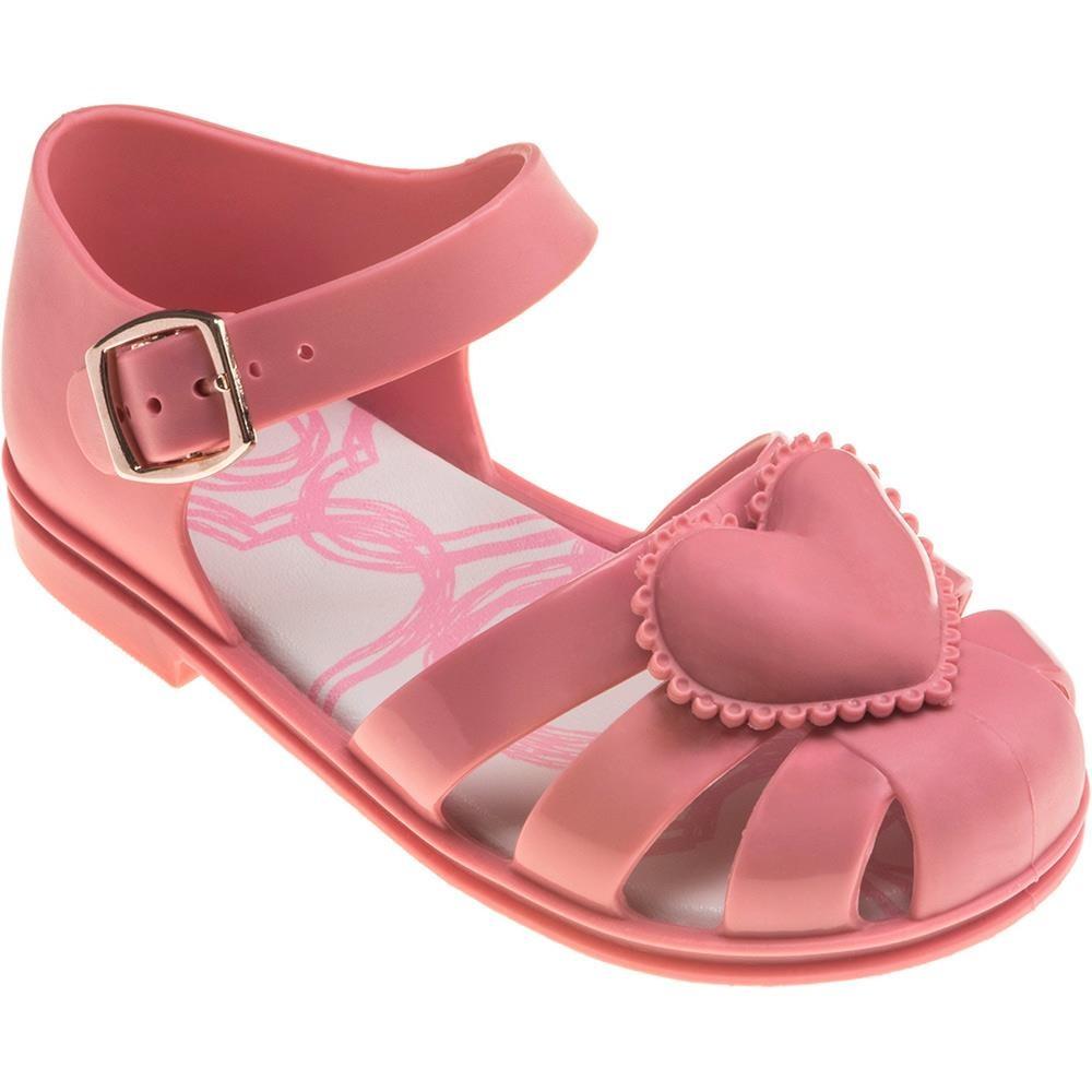 64c60ec99 Sandália Colorê Coração Pimpolho - R$ 24,90 em Mercado Livre