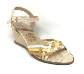 Moda Calzado Cuña De Con Confortable Sandalia Dama n0PX8wOk