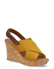 Plataformas Sandalias En Zapatos Mercado Boewxrcd Mujer Amarillas 0PO8nwk