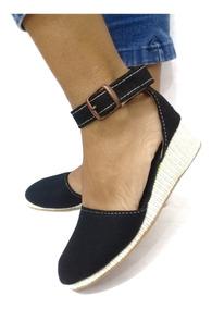 Alpargata En 100Artesanales Sandalia Con Plataformas Jeans BCorxdeWQ
