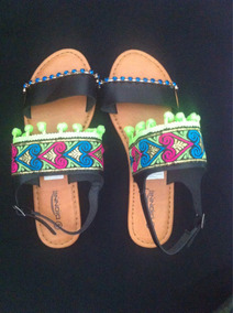Pompones Sandalia 40 Talla Con Fashion cFTlJ1K3