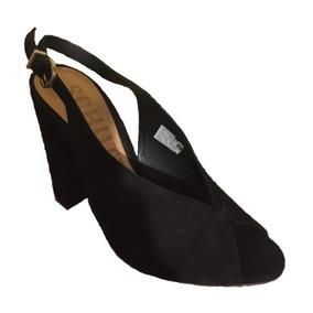 Sandalia Con Schutz Zapatos Tacón 37 Talla Mujer 35SAqjc4RL