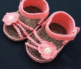 dd8890dcd Sandalia Crochet Bebe - Calzados Ojota para Bebés al mejor precio en  Mercado Libre Argentina