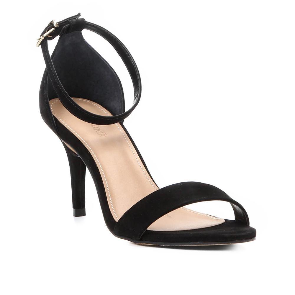 33248d6c99 sandália couro shoestock salto fino naked básica feminina. Carregando zoom.