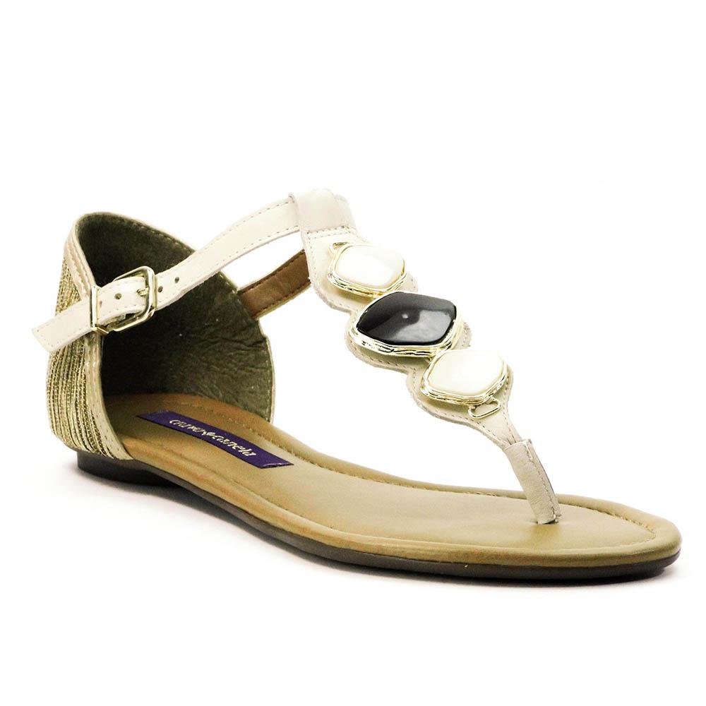 38a65e1a27 sandália cravo e canela rasteira. Carregando zoom.