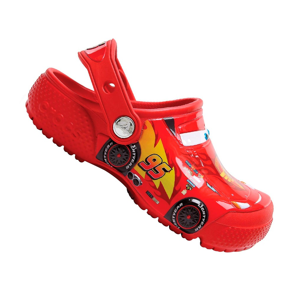 sandália crocs carros 3 menino babuche infantil original. Carregando zoom. 5f106c93ed