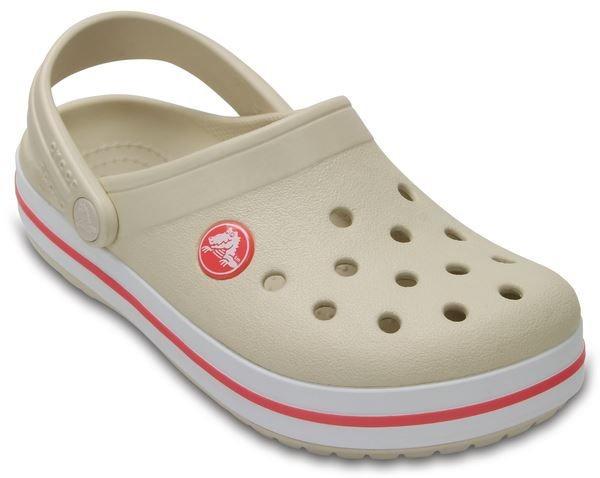102c169074 Sandália Crocs Crocband Clog Kids Stucco melon - R  139