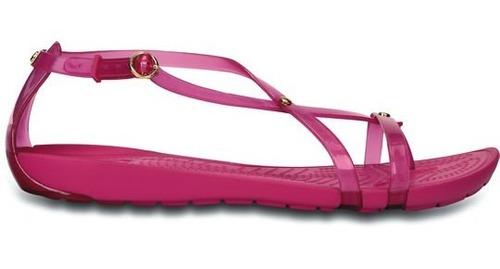 sandalia crocs dama really sexi flip sandal fucsia