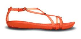 Dama Crocs Sandalia Really Sexi Flip Naranja Sandal CrtdQsh
