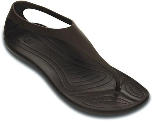 sandalia crocs dama sexi flip café