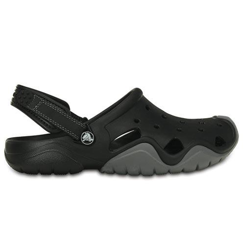 a6cc7525aa34 Sandália Crocs Swiftwater Clog Preto M11/42 - R$ 199,00 em Mercado Livre