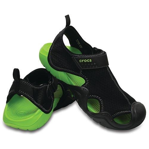 7c66982909 Sandália Crocs Swiftwater Sandal Green M11 42 - R  249