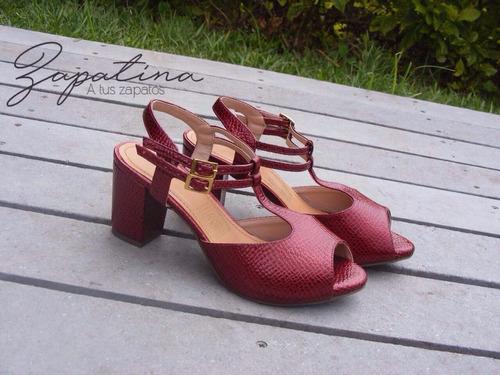 sandalia cuero