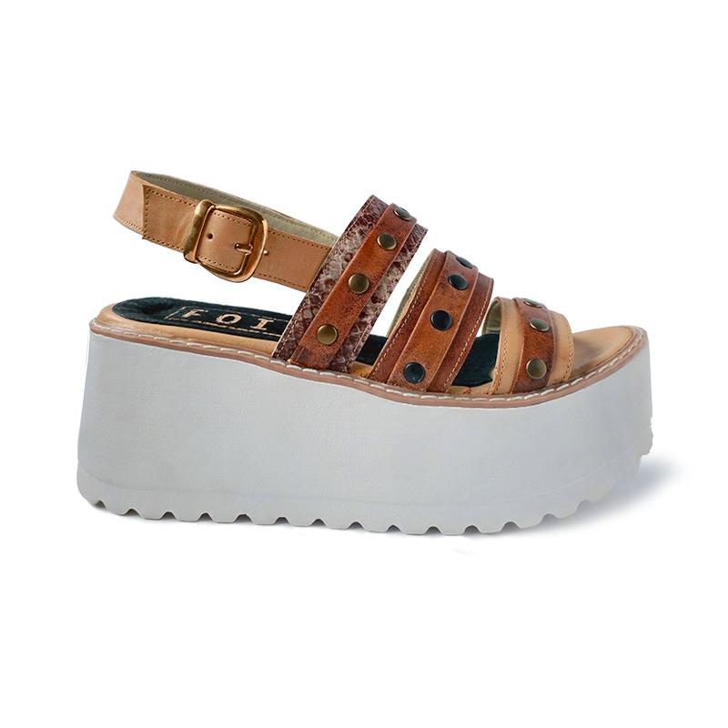 Cuero Plataforma Mujer Sandalia Primavera Zapato Verano 2018 3c4qS5jLRA