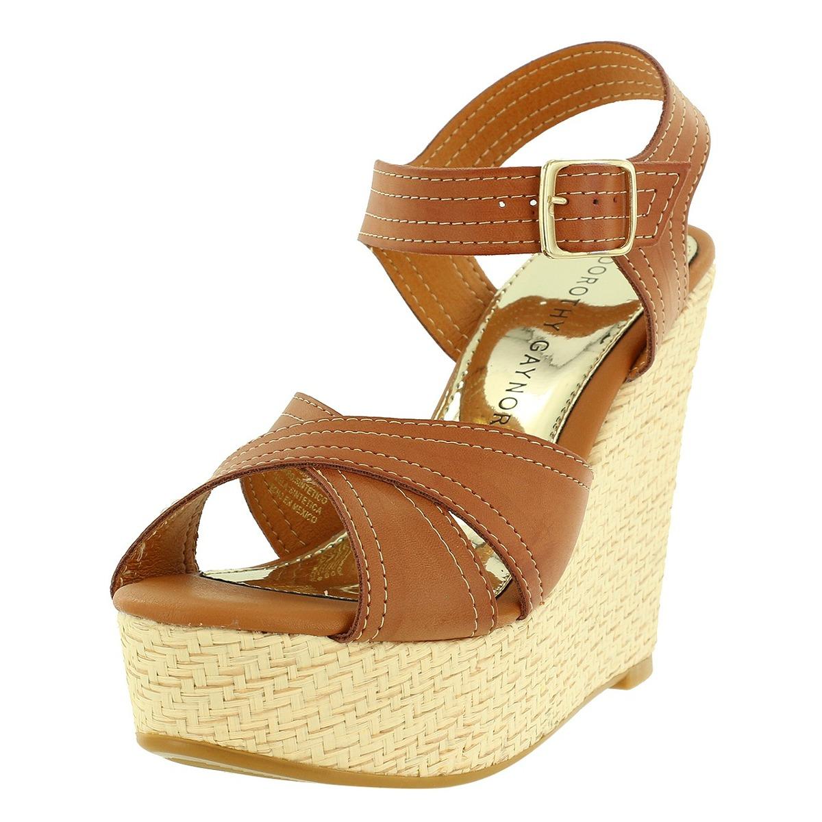 Sandalia Zapato Dorothy En Dama 00 Gaynor559 Camel Cuña Mujer bH2I9eDYWE